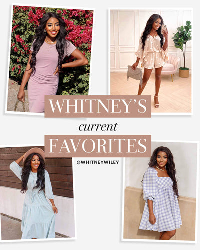 SHOP @WhitneyWiley FAVES