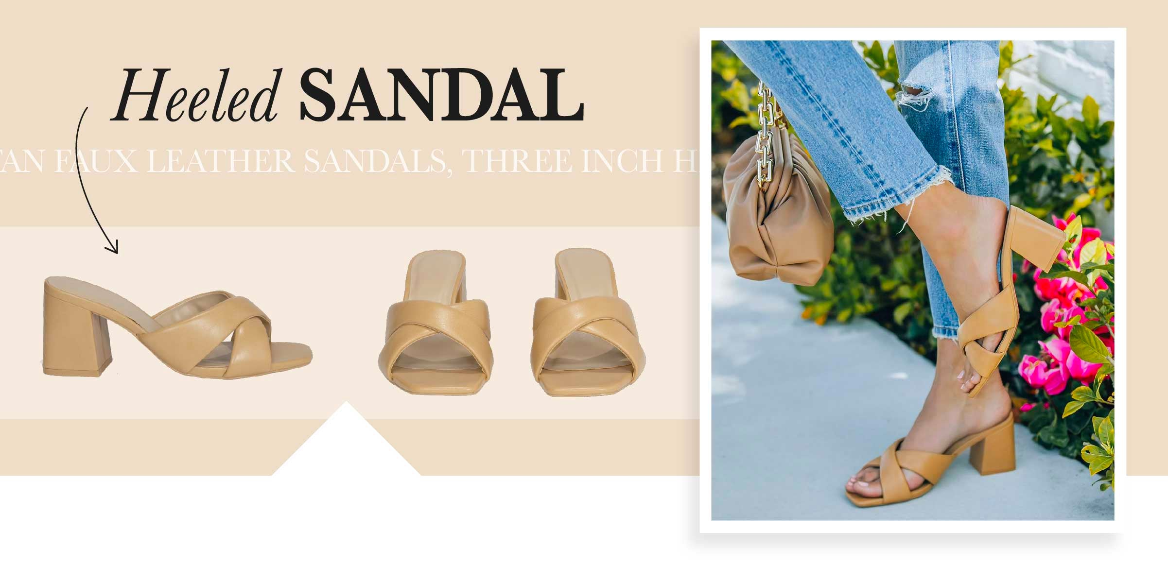 Done are the days of sacrificing comfort for cuteness, that's why the heeled sandal is the shoe of the summer! These true champions will allow you to stand for hours at work, or dance your heart out all night at a Lana Del Rey concert.
