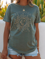 Moon And Sun Phases Cotton Tee view 6