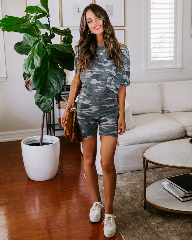 Frontier Knit Camo Shorts