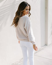 Ariella Knit Sweater - Oatmeal