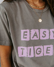 Spell It Out Cotton Easy Tiger Tee