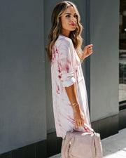 Longboard Tie Dye Pocket Tunic