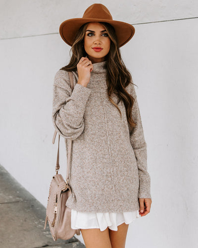 Denver Relaxed Turtleneck Sweater
