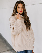 Boise Turtleneck Knit Sweater