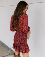 Chase The Winds Floral Smocked Dress