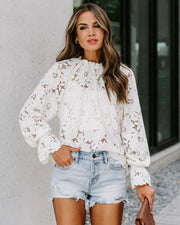 Mind, Body, Soul Lace Blouse