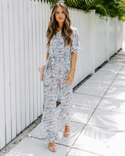 Wishful Thinking Printed One Shoulder Jumpsuit - FINAL SALE