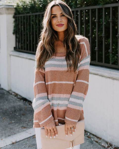 Feliz Striped Knit Sweater - FINAL SALE
