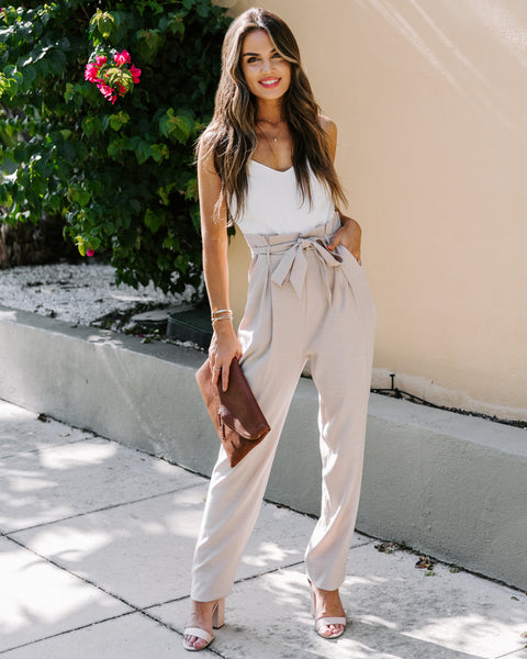 Bellagio Pocketed Jumpsuit