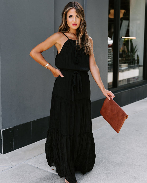 Across The Board Maxi Dress  - FINAL SALE