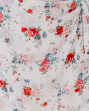 Clean Sweep Floral Swiss Dot Tie Dress - FINAL SALE