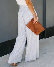 Doyle Pocketed High Rise Striped Wide Leg Pants - FINAL SALE view 2