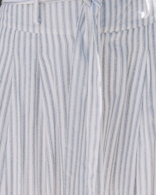 Doyle Pocketed High Rise Striped Wide Leg Pants - FINAL SALE view 4