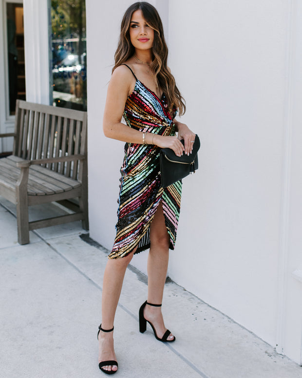 Cut Loose Sequin Dress - FINAL SALE