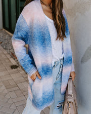Such A Treat Pocketed Ombre Knit Cardigan  - FINAL SALE view 7