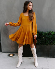 Guide To Fall Tiered Babydoll Dress