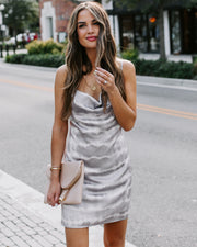 Rhythmic Tie Dye Mini Slip Dress