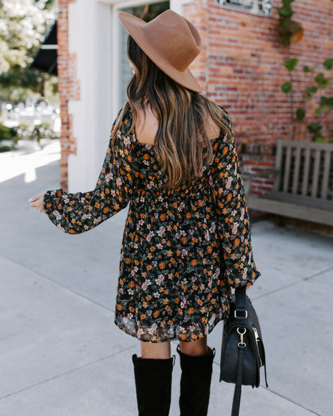 Tammy Floral Shimmer Tunic