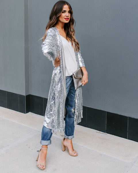 PREORDER - Major Compliments Sequin Duster