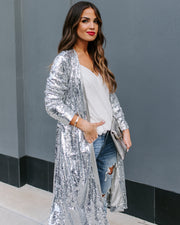 Major Compliments Sequin Duster