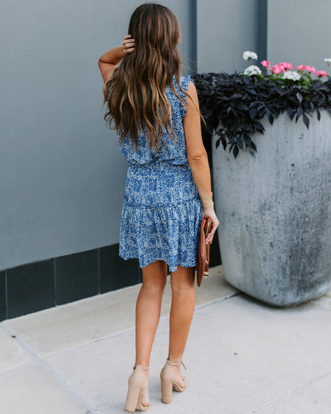 Love In A Mist Sleeveless Ruffle Dress - FINAL SALE
