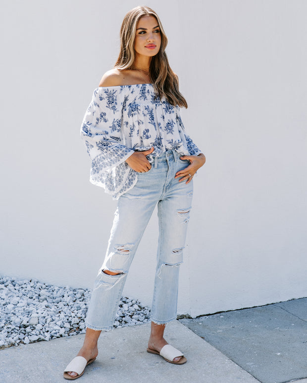 Octave Smocked Off The Shoulder Blouse - FINAL SALE