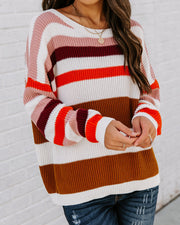 Simpson Cotton Striped Sweater