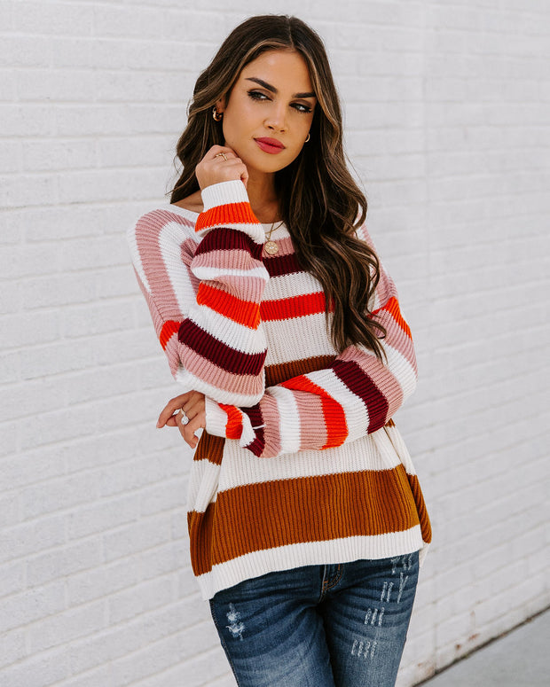 Simpson Cotton Striped Sweater - FINAL SALE