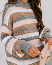 Take My Hand Striped Knit Sweater view 9