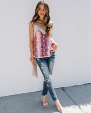 Western Ground Lace Cami Tank - FINAL SALE