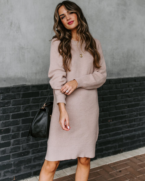 Community Sweater Dress