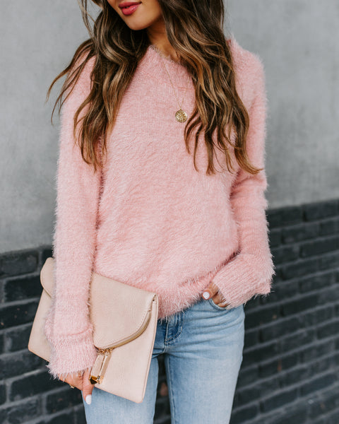 Sisterly Fuzzy Knit Sweater