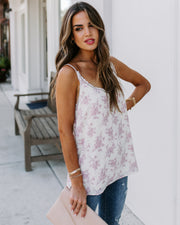 Bianca Floral Lace Cami Tank