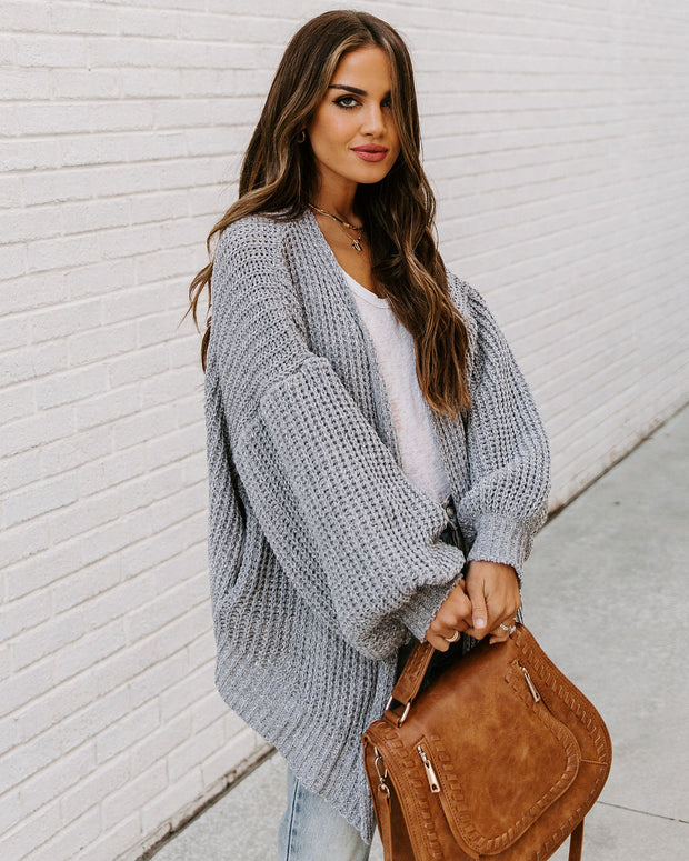 Cool Beans Pocketed Knit Cardigan