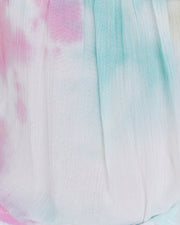 Babylon Tie Dye Short Sleeve Top- FINAL SALE view 4