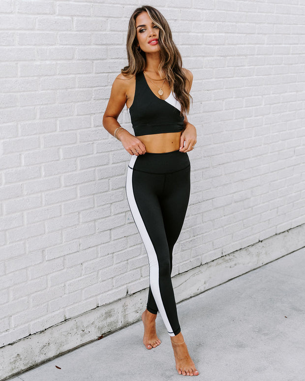 Yin + Yang Legging - Black/White view 9
