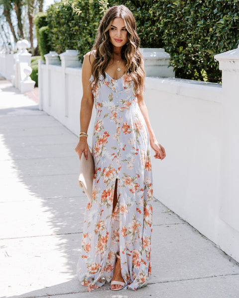 Corey Floral Ruffle Maxi Dress - FINAL SALE