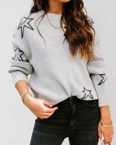 A Starry Sight Knit Sweater