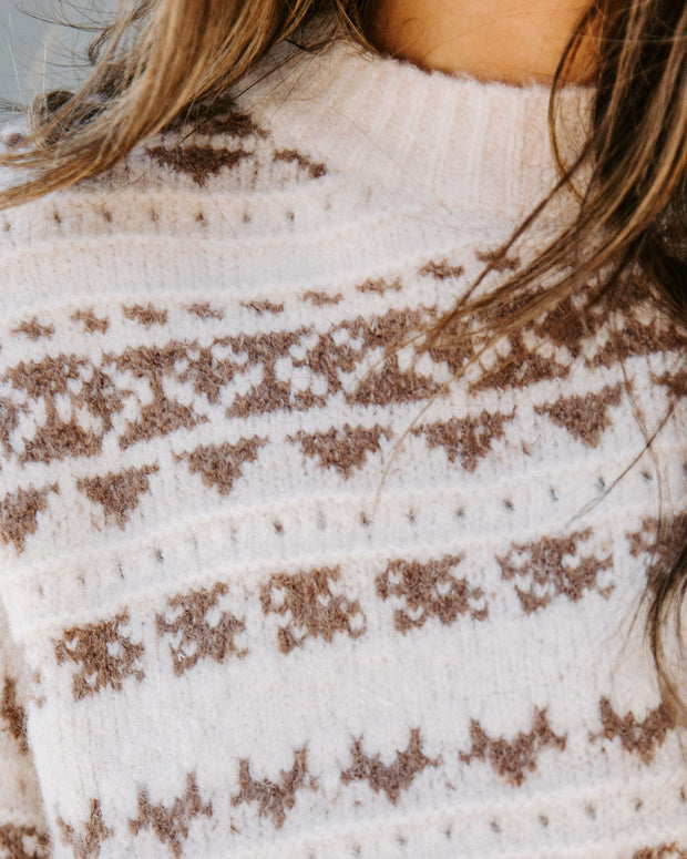 Puzzlewood Knit Sweater