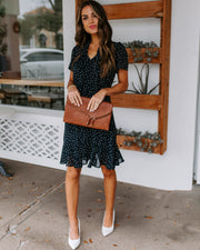 All Mine Polka Dot Tie Dress