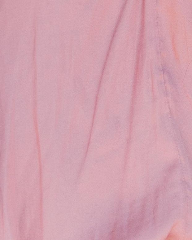 Flirtatious Billowed Satin Blouse - Mauve - FINAL SALE view 4
