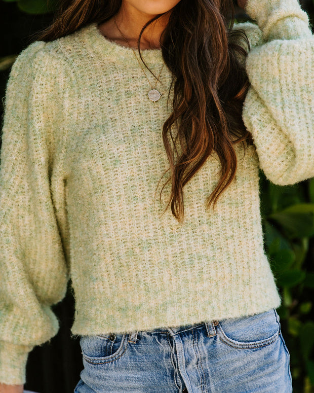 Moody Balloon Sleeve Knit Sweater - FINAL SALE view 8