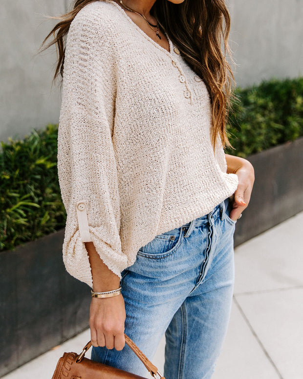 Sallie Knit Henley Top