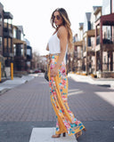 California Dreamin' Palazzo Pants - Yellow - FINAL SALE