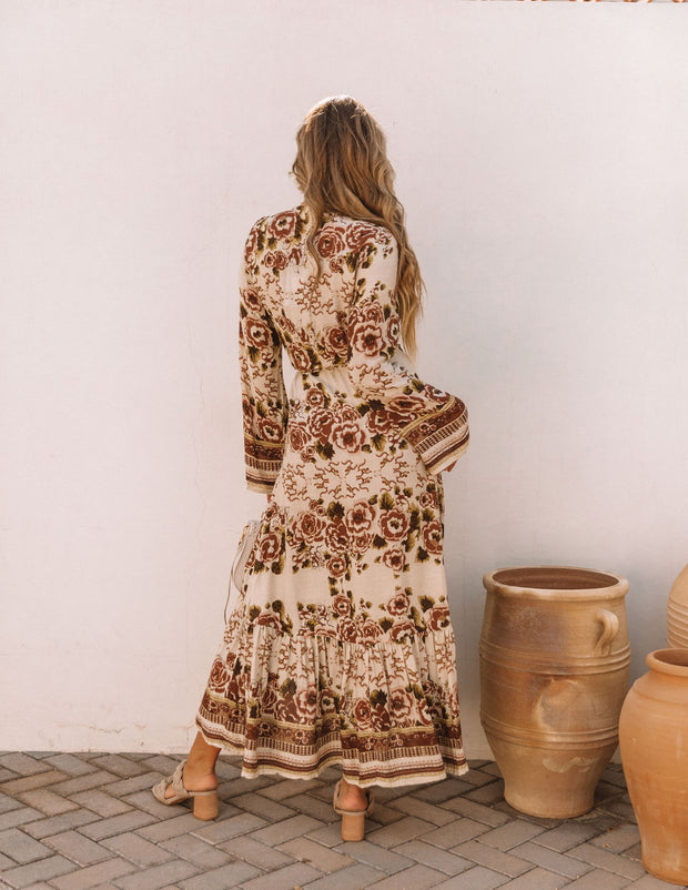 Riverwood Floral High Low Wrap Maxi Dress view 2