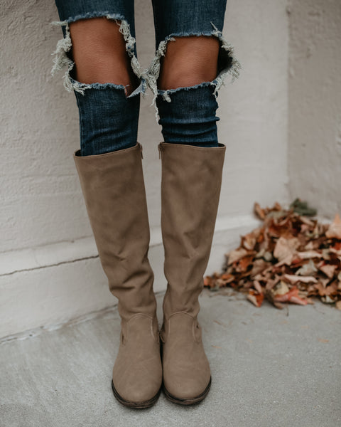 Hadley Boot - Taupe
