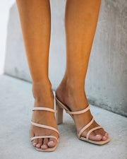 Lovestruck Strappy Heeled Sandal - Nude