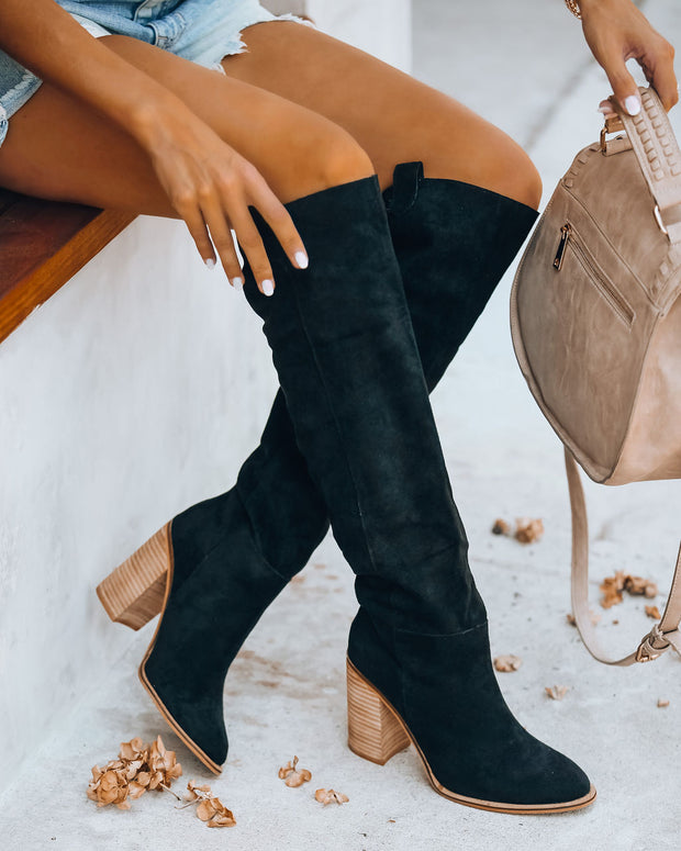PREORDER - Saint Slouch Boot - Black