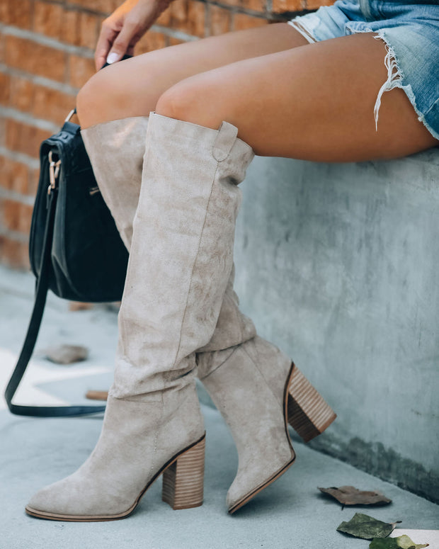Saint Slouch Boot - Grey